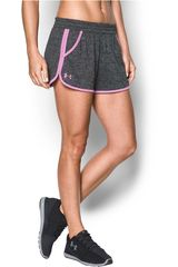Under Armour Plomo de Mujer modelo tech short 2.0 twist Shorts Deportivo