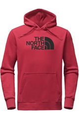 Polera de Hombre The North Face Rojo / negro m half dome pullover hoodie