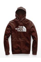 Polera de Hombre The North Face Vino / blanco m half dome pullover hoodie