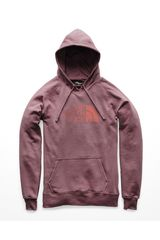 The North Face Rosado de Mujer modelo w half dome pullover hoodie Poleras Casual