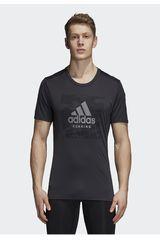 Adidas Plomo de Hombre modelo bos tee m Polos Deportivo