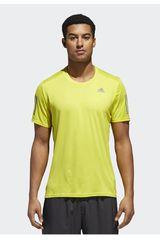 Adidas Amarillo de Hombre modelo response tee m Polos Deportivo