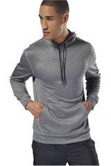 Reebok Gris de Hombre modelo wor thermowarm hoodie Poleras Deportivo