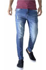 ROCK & RELIGION Azul de Hombre modelo lebron Pantalones Jeans Casual