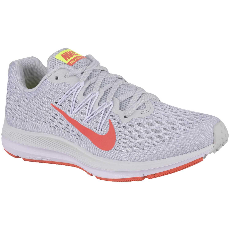 sports shoes 35a8c b807f Zapatilla de Mujer Nike Blanco   naranja wmns nike zoom winflo 5