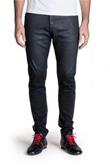 Octodenim Negro de Hombre modelo peter Jeans Casual Pantalones