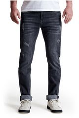 Octodenim Plomo de Hombre modelo jack Pantalones Jeans Casual