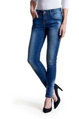 Octodenim Azul de Mujer modelo sienna Jeans Casual Pantalones