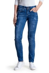 Octodenim Azul de Mujer modelo mia Jeans Casual Pantalones