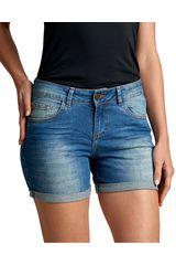 Octodenim Celeste de Mujer modelo davna Casual Shorts