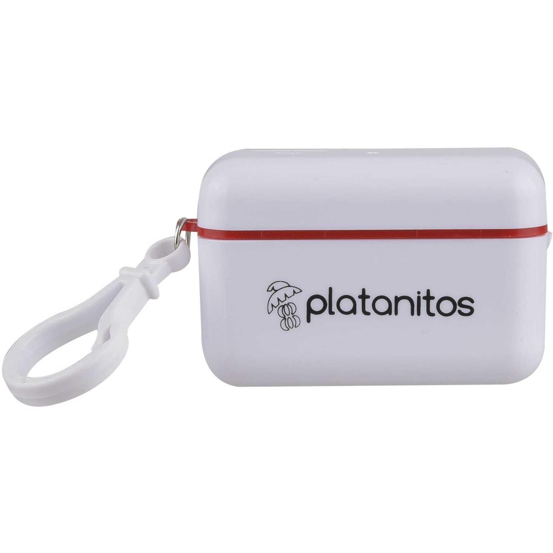 Audífonos  Platanitos Rojo yc626