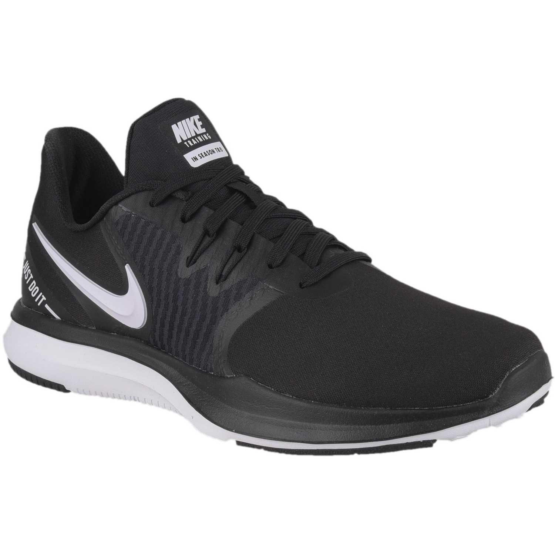 Zapatilla de Mujer Nike Negro /gris wmns in-season tr 8