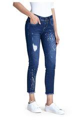 Octodenim Azul de Mujer modelo brisa Jeans Casual Pantalones