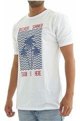 Skechers Blanco de Hombre modelo Polo-163-37605DD Polos Deportivo