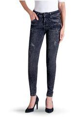 Octodenim Negro de Mujer modelo cloe Casual Pantalones Jeans