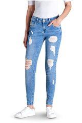 Octodenim Celeste de Mujer modelo olivia Casual Pantalones Jeans