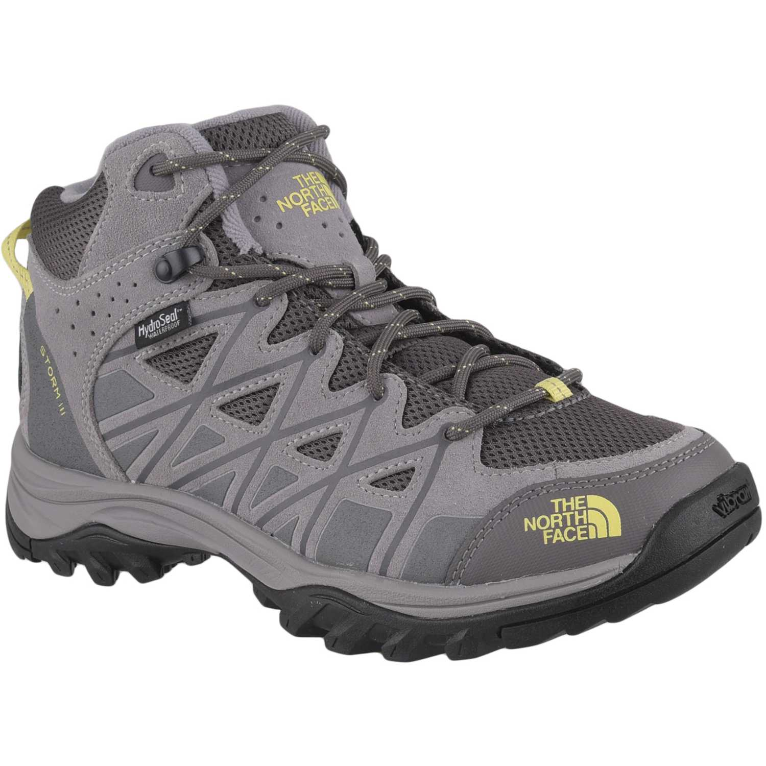 Zapatilla de Mujer The North Face Gris / amarillo w storm iii mid wp