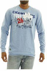 Polera de Hombre BERKSHIRE POLO CLUB Azul polera-159-1532568