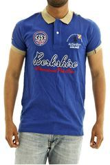 Polo de Hombre BERKSHIRE POLO CLUB Azul polo-159-1534124