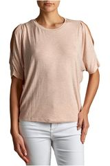 Octodenim Rose gold de Mujer modelo isabella Casual Polos