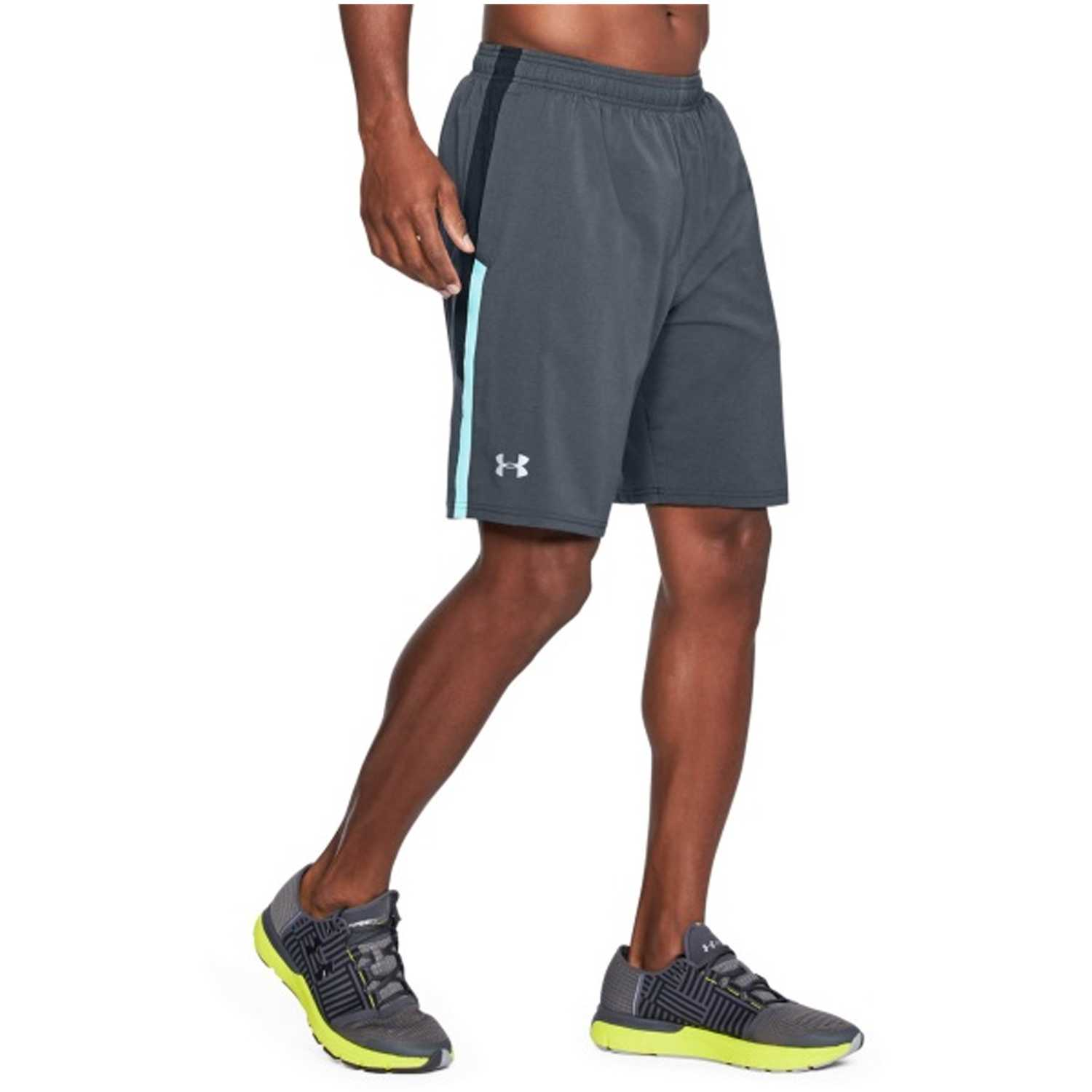 Short de Hombre Under Armour Plomo ua launch sw 9'' short
