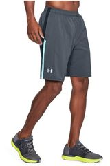 Under Armour Plomo de Hombre modelo ua launch sw 9'' short Deportivo Shorts