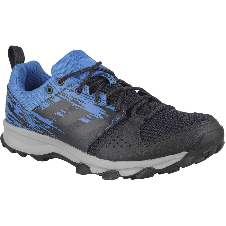 new product 79bdc 29f69 Zapatilla de Hombre Adidas Negro  celeste galaxy trail