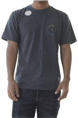 Billabong Negro de Hombre modelo land and sea Polos Casual
