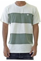 Element Verde / blanco de Hombre modelo braddy Polos Casual