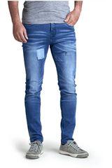 Octodenim Celeste de Hombre modelo nisso Pantalones Jeans Casual