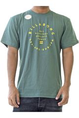 Billabong Verde de Hombre modelo shift Casual Polos