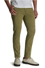 Octodenim Verde de Hombre modelo cristiano Casual Pantalones Jeans