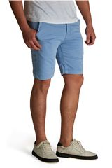 Octodenim Celeste de Hombre modelo leo Casual Shorts