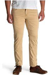 Octodenim Beige de Hombre modelo cristiano Casual Pantalones Jeans
