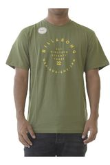 Billabong Olivo de Hombre modelo shift Casual Polos