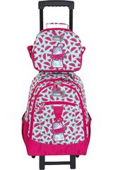 Mochila de Niña Xtrem Rosado backpack with wheels watermelon run 731
