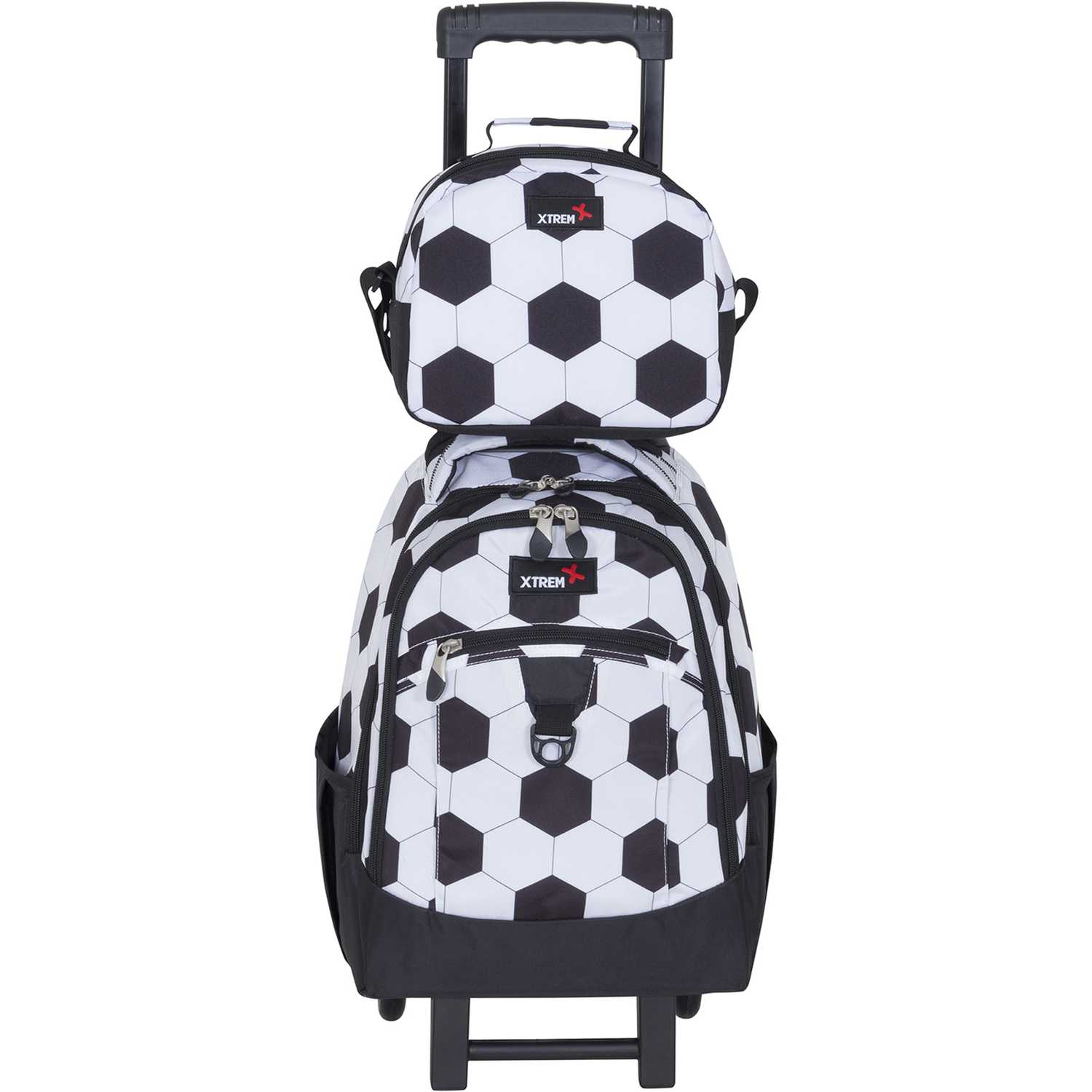 Mochila de Niño Xtrem Blanco / negro backpack with wheels goal run 731