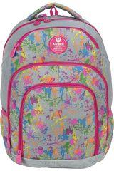 Xtrem Gris / fucsia de Niña modelo backpack comet painted soul 811 Mochilas