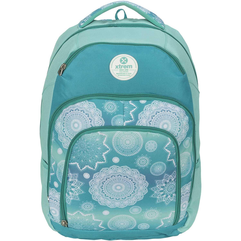 Mochila de Niña Xtrem Turquesa backpack mandalas soul 811
