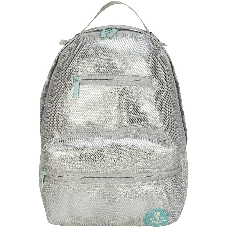 Mochila de Niña Xtrem Plateado backpack silver paris 821