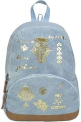 Xtrem Celeste de Niña modelo backpack tattoo shine garden 812 Mochilas