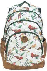 Xtrem Blanco / verde de Niña modelo backpack birds blossom victory 814 Mochilas