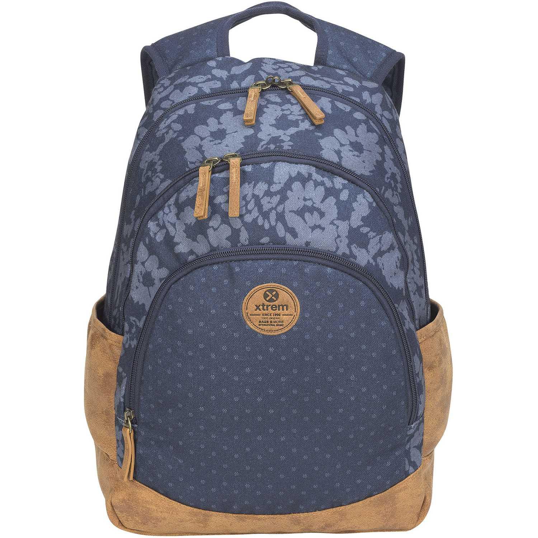 Mochila de Niña Xtrem Azul backpack petals blue victory 814