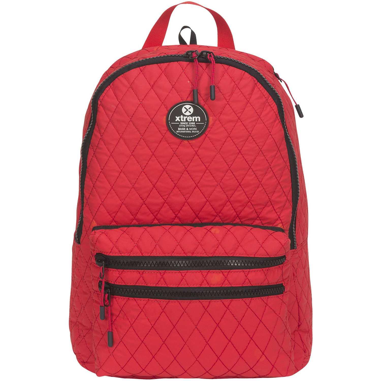 Mochila de Niña Xtrem Rojo backpack quilt red boogy 816
