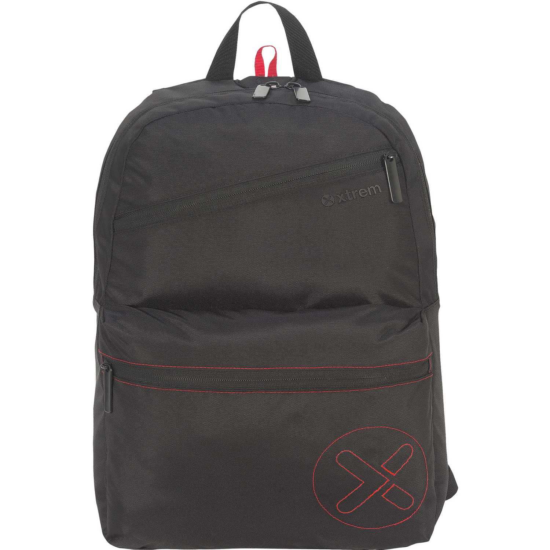 Mochila de Niño Xtrem Negro backpack black academy 818