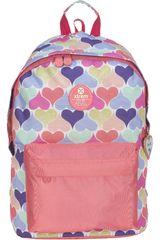 Xtrem Rosado de Niña modelo backpack continue hearts joy 820 Mochilas