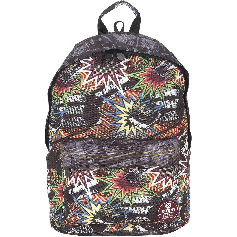 Mochila de Niño Xtrem Plomo backpack stereo joy 820