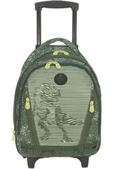 Xtrem Verde de Niño modelo backpack with wheels dino life cross 830 Mochilas