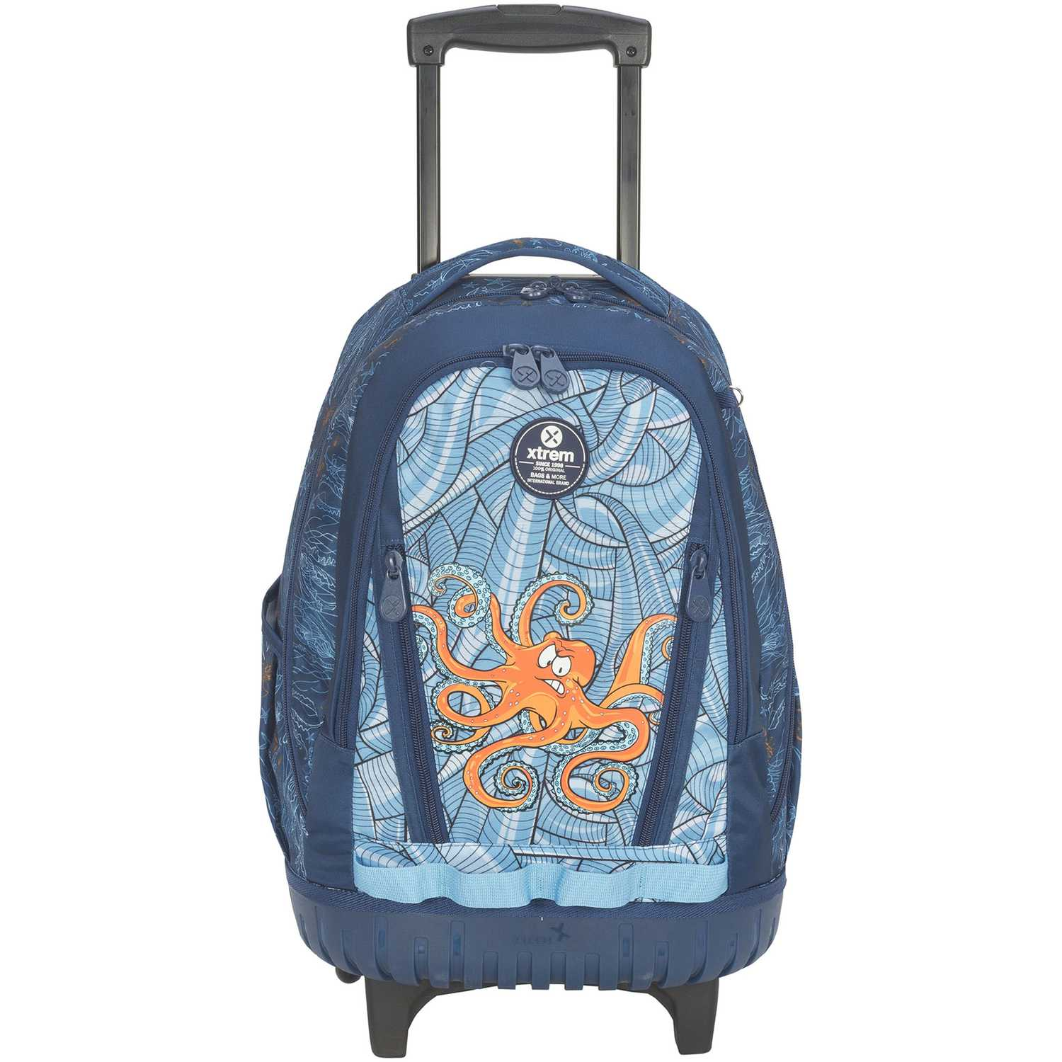 Mochila con ruedas de Niño Xtrem Azul backpack with wheels under the sea cross 830