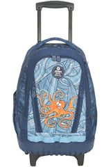 Xtrem Azul de Niño modelo backpack with wheels under the sea cross 830 Mochilas